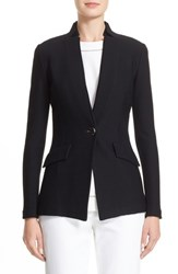 St. John Women's Collection Lattice Pique Knit Jacket