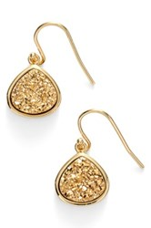 Sonya Renee Drusy Teardrop Earrings Metallic