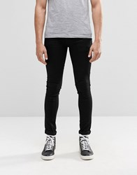 Religion Super Stretch Jeans Black