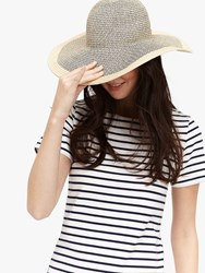 Joules Myla Straw Sun Hat Natural