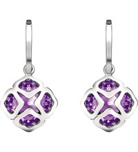 Chopard Imperiale 18Ct White Gold And Amethyst Earrings