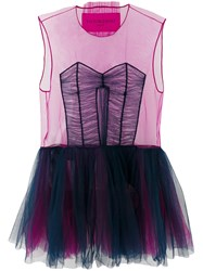Viktor And Rolf Tulle Icon 1.3 Dress Nylon Pink Purple
