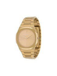 D1 Milano Ultra Thin 40Mm Watch Gold