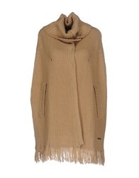 Cristinaeffe Capes And Ponchos Beige