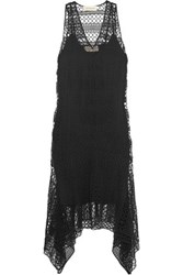 By Malene Birger Gigisa Cotton Guipure Lace Dress Black