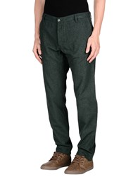 Officina 36 Trousers Casual Trousers Men Dark Green