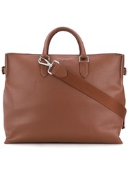 Orciani Tote Bag Brown