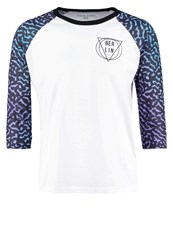Your Turn Long Sleeved Top White Multicoloured