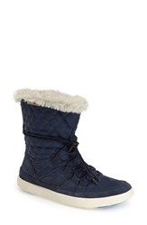 Women's Helly Hansen 'Harriet' Cold Weather Boot Deep Blue Frosted White