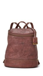 Frye Campus Small Backpack Walnut