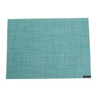 Chilewich Mini Basketweave Rectangle Placemat Turquoise