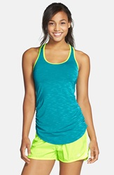 New Balance Ruched Tank Sea Glass Heather