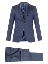 Gucci New Signoria Linen And Wool Blend Suit