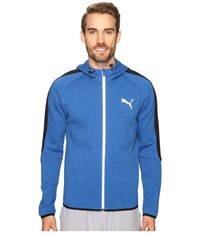 Puma Evostripe Proknit Full Zip Hoodie Royal Heather Men's Sweatshirt Blue