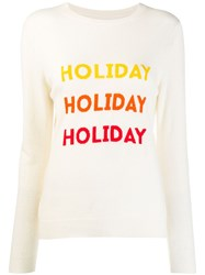 Chinti And Parker Holiday Sweater White