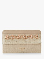 Dune Jewel Canvas Purse Neutral