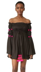 Sundress Anita Dress Black Pink