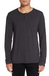 Michael Stars Men's Knit Henley Oxide