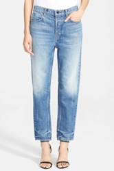 Alexander Wang Boy Fit Jeans Blue