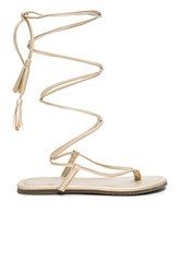 Pilyq Gladiator Sandals Metallic Gold