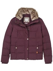 Fat Face Poppy Puffer Jacket Very Berry