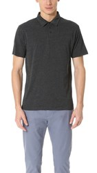 Rvca Sure Thing Ii Polo Charcoal Heather