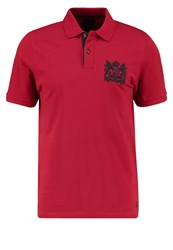 Produkt Pktgms Neon Polo Shirt Rio Red