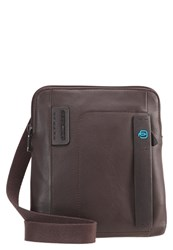 Piquadro Across Body Bag Brown Dark Brown