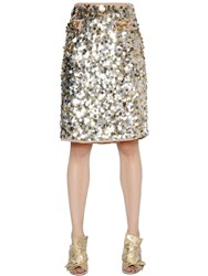 Gianluca Capannolo Sequined Crepe Skirt