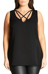 City Chic Plus Size Women's Strappy Lover Tank