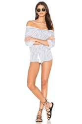 Indah Ironwood Romper White