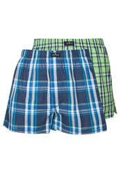 Tom Tailor 2 Pack Boxer Shorts Vivid Bluedap Dark Blue
