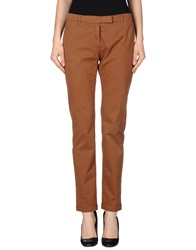 Douuod Casual Pants Brown