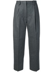 Acne Studios Flannel Trousers Grey