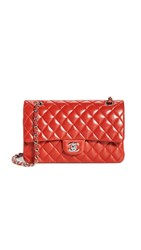 Wgaca What Goes Around Comes Around Chanel Red Lambskin Bag