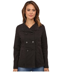 Jag Jeans Ashland Relaxed Fit Peacoat Bay Twill Cinder Women's Coat Gray