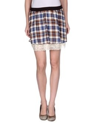 Atelier Fixdesign Mini Skirts Cocoa