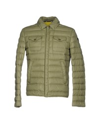 313 Tre Uno Tre Down Jackets Military Green