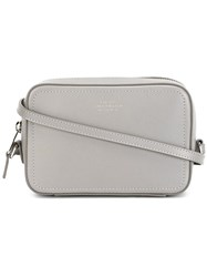 Smythson Camera Crossbody Bag Grey