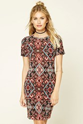Forever 21 Contemporary Tribal Print Dress