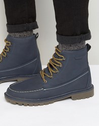 Rock And Religion Fleeced Lined Boots Blue