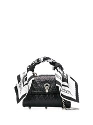 Ermanno Scervino Scarf Detail Bag Black