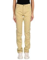 Jaggy Casual Pants Beige