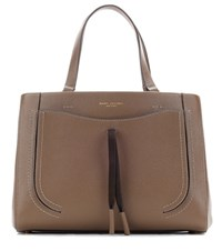 Marc Jacobs Maverick Leather Tote Brown