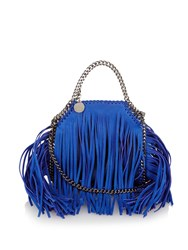Stella Mccartney Falabella Tiny Fringed Cross Body Bag