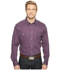 Cinch Modern Fit Plain Weave Purple Men's Clothing