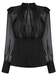 Federica Tosi Sheer Silk Blouse 60