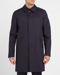 A.P.C. Navy Mac Ville Waterproof Parka Blue