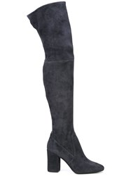 Coach Giselle Over The Knee Boots Blue