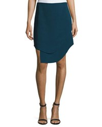 Opening Ceremony Talene Overlap Mini Skirt Blue